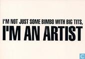 "L000320 - Allegro Design ""I'm An Artist"""