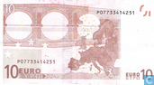 Billets de banque - Zone Euro - 2002 'Signature W.F. Duisenberg' Issue - Zone Euro 10 Euro P-G-Du