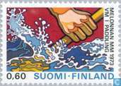 Timbres-poste - Finlande - Championnats du monde de canoë, Tampere