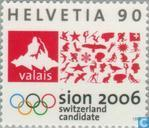 Postage Stamps - Switzerland [CHE] - Nominations Sitten Olympics