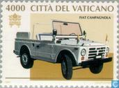 Postage Stamps - Vatican City - Vehicles of the Pope
