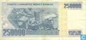 Bankbiljetten - Türkiye Cumhuriyet Merkez Bankasi - Turkije 250.000 Lirasi