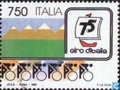 Timbres-poste - Italie [ITA] - Giro d'Italia 75 années