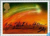 Postage Stamps - Great Britain [GBR] - Comet Halley