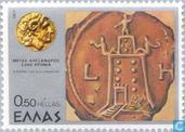 Postage Stamps - Greece - Great, Alexander the 2300th anniversary