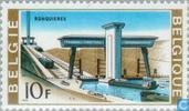 Postage Stamps - Belgium [BEL] - Ronquières inclined plane