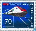 Postage Stamps - Switzerland [CHE] - Railways