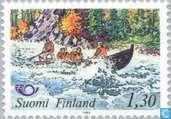 Postzegels - Finland - Norden - toerisme