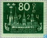 Postage Stamps - Sweden [SWE] - 80 blue / green