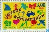 Postage Stamps - France [FRA] - Happy birthday