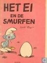 Comics - Robbedoes (Illustrierte) - Het ei en de Smurfen