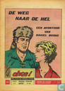 Bandes dessinées - Daniel Boone - De weg naar de hel