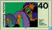 Postage Stamps - Germany, Federal Republic [DEU] - Drug Abuse