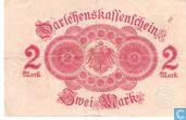 Banknotes - Darlehenskassenschein - Reichsschuldenverwaltung, 2 Mark 1914 (52A)