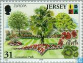 Postage Stamps - Jersey - Europe - Nature reserves and parks