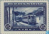 Postage Stamps - San Marino - Railways
