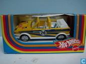 Modelauto's  - Mattel Hotwheels - Volkswagen Golf Cabriolet 'Racing'