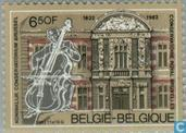 Postage Stamps - Belgium [BEL] - Music Conservatory of Brussels 1832-1982