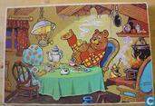 Puzzles - Bommel et Tom Poes - Bommel bij Doddeltje op de thee