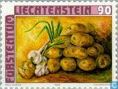 Postage Stamps - Liechtenstein - Field Crops