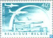 Postage Stamps - Belgium [BEL] - Air bridge with Congo