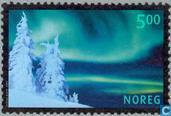 Postage Stamps - Norway - 2001 Aurora 500