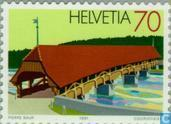Postage Stamps - Switzerland [CHE] - Bridges