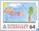 Briefmarken - Guernsey - Millennium