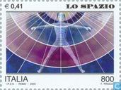 Postzegels - Italië [ITA] - Mens en ruimte