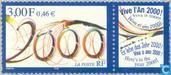 Postzegels - Frankrijk [FRA] - Millennium