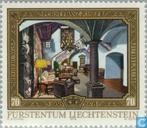 Postzegels - Liechtenstein - Vorst Franz Josef II- regeringsjubileum