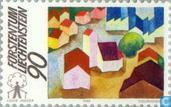 Postage Stamps - Liechtenstein - European countryside campaign
