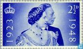 Postage Stamps - Great Britain [GBR] - King George VI-Wedding Anniversary