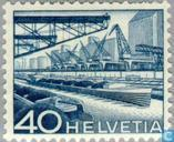 Postage Stamps - Switzerland [CHE] - Landscapes and technology