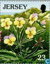 Briefmarken - Jersey - European Nature Conservation Jahr