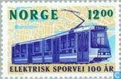 100 years Electr. tram in Oslo