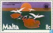 Postzegels - Malta - Commonwealth dag