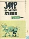 Strips - Jaap - Jaap en vriend steen
