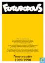 Bandes dessinées - Futuropolis - Nouveautés 1989/1990