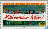 Postage Stamps - Germany, Federal Republic [DEU] - Live together!