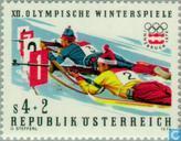Postzegels - Oostenrijk [AUT] - Olympische Spelen- Innsbruck