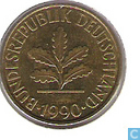 Coins - Germany - Germany 10 pfennig 1990 (F)