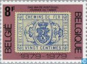 Postage Stamps - Belgium [BEL] - Stamp on stamp
