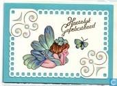 Cartes postales - cartes 3D - Gefeliciteerd