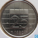 Coins - the Netherlands - Netherlands 25 cents 1982