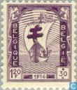 Postzegels - België [BEL] - Antituberculosis - verpleegkundigen