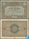 Billets de banque - Muntbiljet 1878 - Pays-Bas 10 Gulden 1878