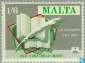 Postage Stamps - Malta - Sultana and Psaila