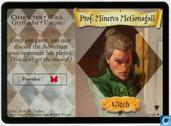 Cartes à collectionner - Harry Potter 2) Quidditch Cup - Prof. Minerva McGonagall