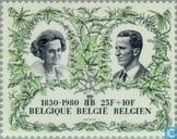 Postzegels - België [BEL] - 150 jaar Onafhankelijkheid